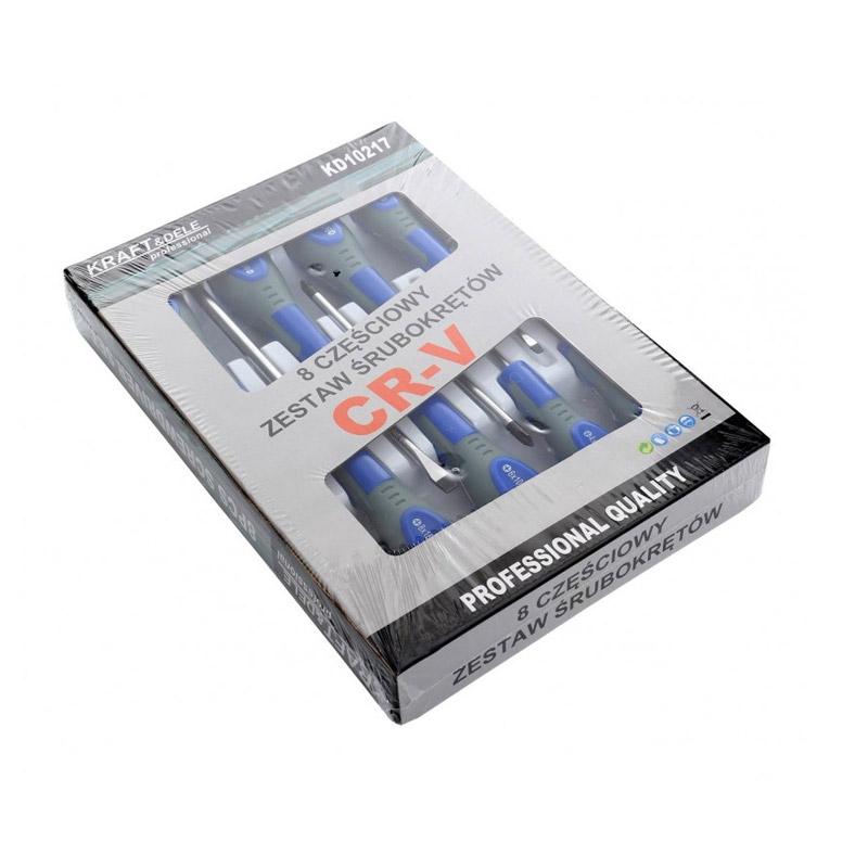 Σετ Μαγνητικά Κατσαβίδια 8 τμχ Kraft&Dele KD-10217