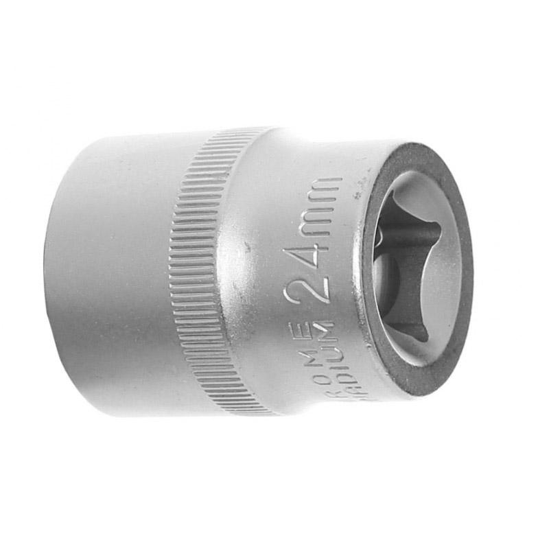 """Σετ Εξαγωνικά Καρυδάκια 1/2"""" 10 - 24 mm 10 τμχ Kraft&Dele KD-10226"""