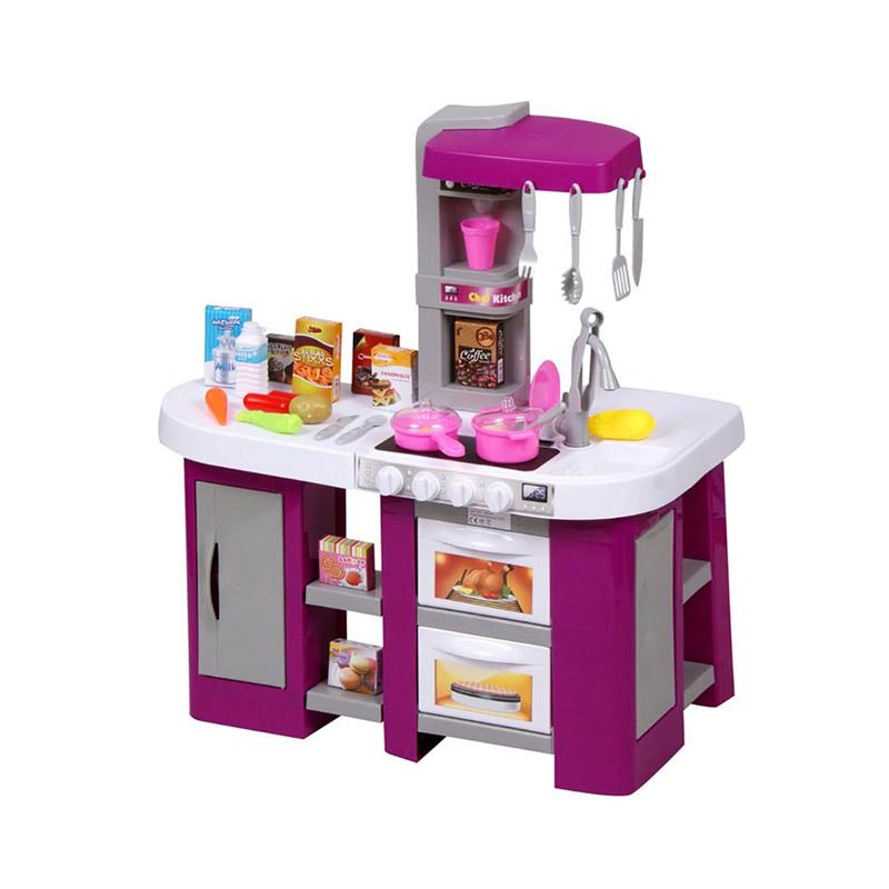 Παιδική Κουζίνα 72.5 x 61 x 33 cm με Αξεσουάρ Hoppline HOP1001149-3