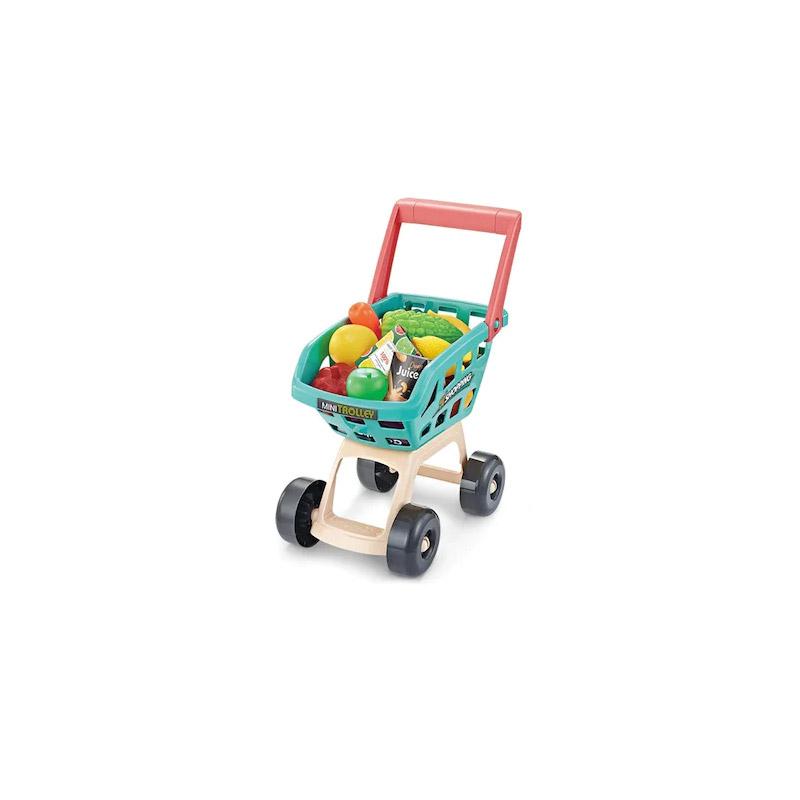 Παιδικό Σετ Σούπερ Μάρκετ με Καρότσι και Αξεσουάρ Hoppline HOP1001154