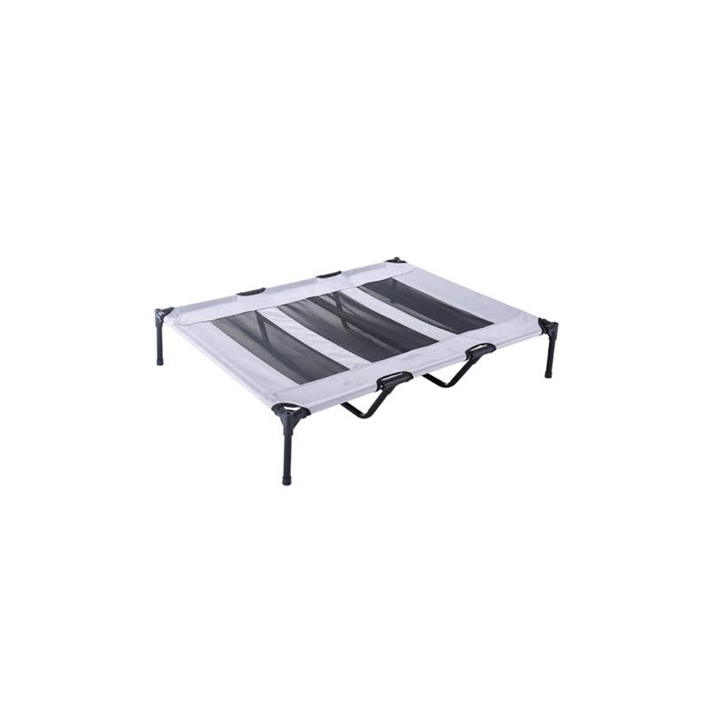 Υπερυψωμένο Κρεβάτι για Κατοικίδια με Σκίαστρο Extra Large 91.5 x 122.5 x 120 cm TimelessTools HOP1001145-3