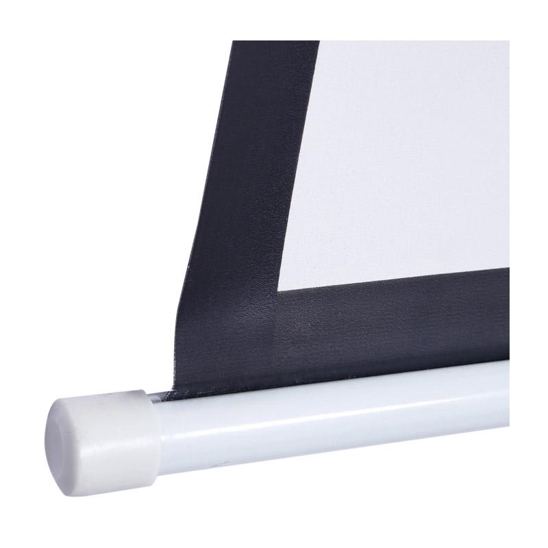 Χειροκίνητη Οθόνη - Πανί Προβολής 244 x 183 cm HOMCOM 001-010V01
