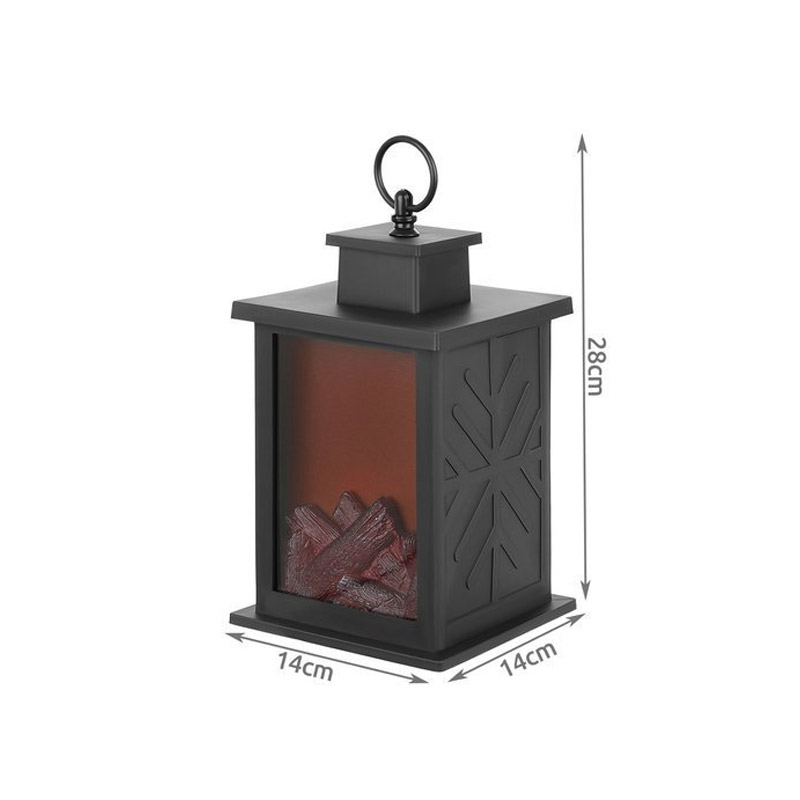 Φανάρι LED Τζάκι 14 x 14 x 28 cm SPM 11415