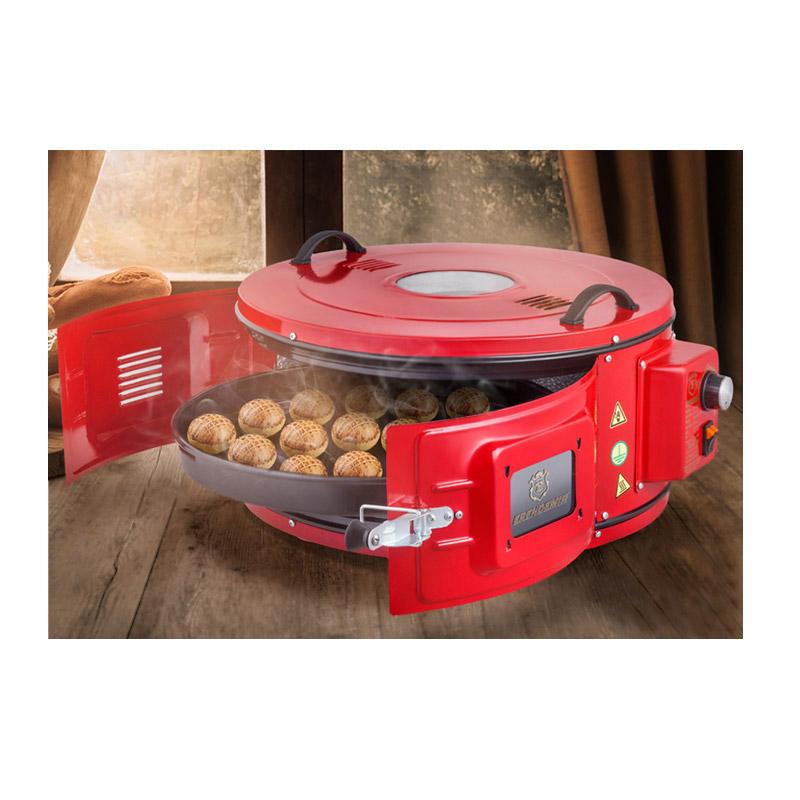 Φορητός Φούρνος με Θερμοστάτη έως 320 °C και Ταψί 40 cm 1300 W ERENDEMIR EF-355L