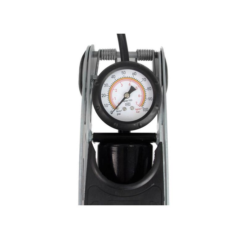 Τρόμπα Ποδιού με Μανόμετρο 7 Bar 30 x 13.5 cm MAR-POL M82008