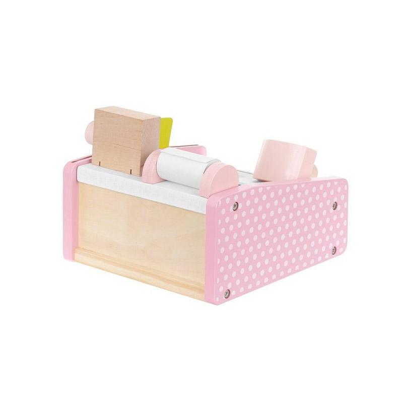 Ξύλινη Παιδική Ταμειακή Μηχανή με Αξεσουάρ SPM 11214