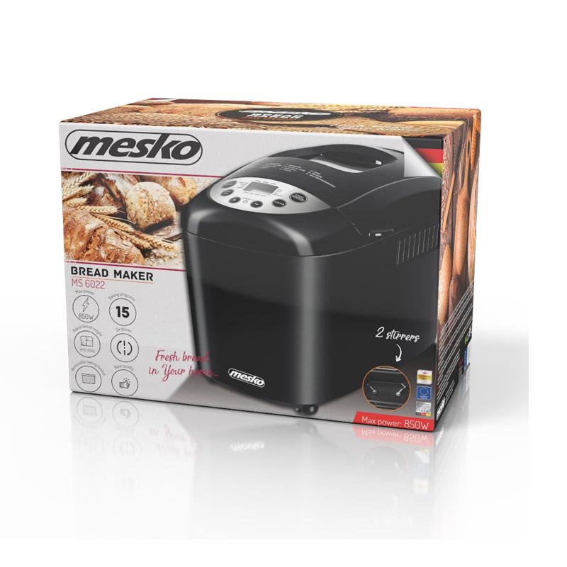 Αυτόματος Αρτοπαρασκευαστής 850 W Mesko MS-6022