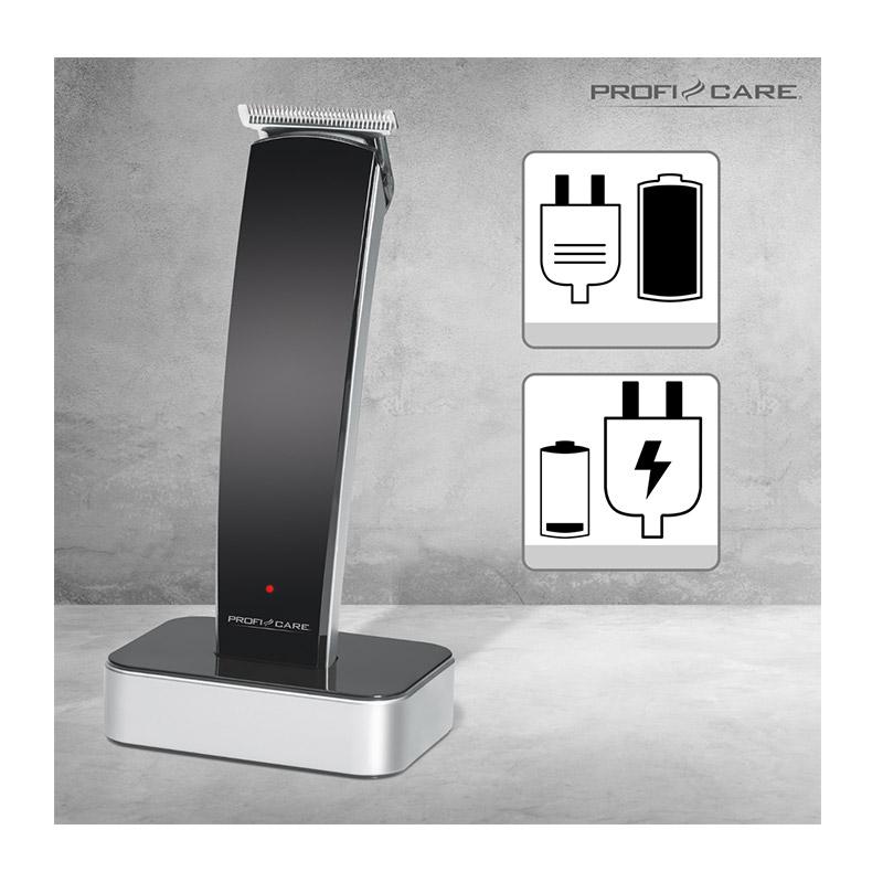 Κουρευτική και Ξυριστική Μηχανή Ρεύματος - Επαναφορτιζόμενη ProfiCare PC-HSM/R3051