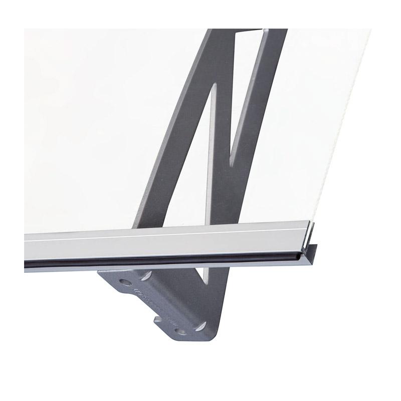 Κιόσκι - Τέντα Πόρτας Εισόδου από Αλουμίνιο 120 x 90 x 15 cm Outsunny B70-031