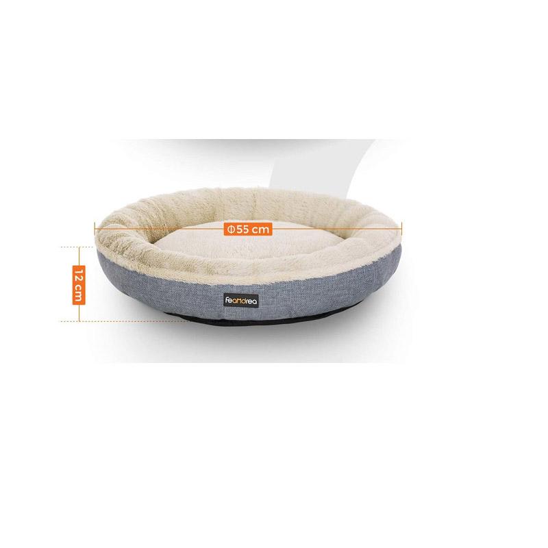Κρεβάτι Σκύλου 55 x 12 cm Χρώματος Γκρι Feandrea PGW55G