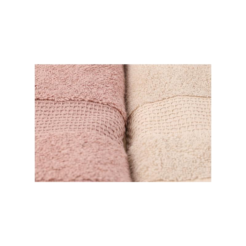 Σετ με 4 Πετσέτες Προσώπου 50 x 90 cm Χρώματος Καφέ Beverly Hills Polo Club 355BHP2374