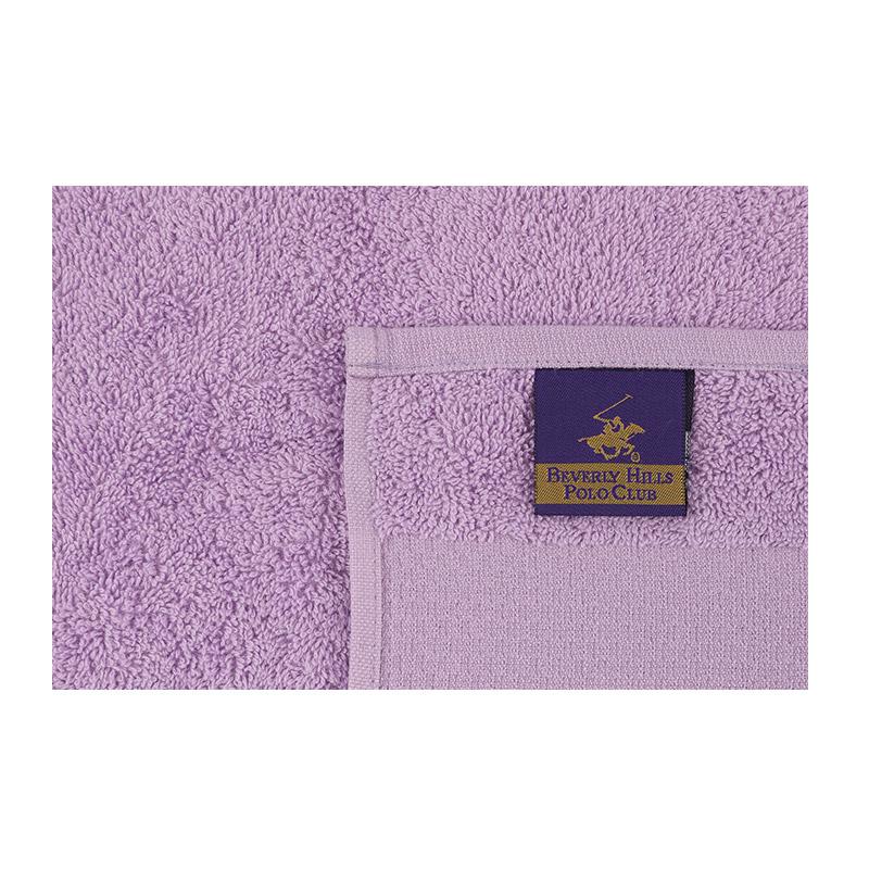 Σετ με 4 Πετσέτες Προσώπου 50 x 90 cm Χρώματος Μωβ Beverly Hills Polo Club 355BHP2376
