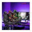 Καρέκλα Gaming με Υποπόδιο Χρώματος Πράσινο Herzberg HG-8080GRN