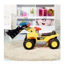 Παιδικός Ηλεκτρικός Εκσκαφέας με Ρεαλιστικούς Ήχους 84 x 45 x 30 cm Costway TY556631