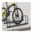 Μεταλλική Μπάρα Στάθμευσης 3 Ποδηλάτων HOMCOM AA0-023BK