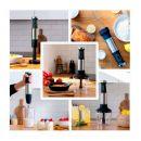 Ραβδομπλέντερ Χειρός Power TitanBlack 1200 XL Perfect Cream & Crush Cecotec CEC-04293