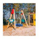 Παιδική Στρογγυλή Κούνια Δέντρου 110 cm Hoppline HOP1001104-1