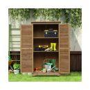Ξύλινη Αποθήκη Κήπου 87 x 46.5 x 160 cm Outsunny 845-247