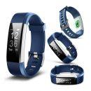 Ρολόι Fitness Tracker Aquarius AQ125HR με Μετρητή Καρδιακών Παλμών Χρώματος Μπλε R157699
