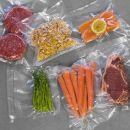 Σακούλες για Αεροστεγές Σφράγισμα Τροφίμων 20 x 600 cm 2 Ρολά Cecotec CEC-04071