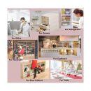 Προστατευτική Επιφάνεια Πολλαπλών Χρήσεων Χρώματος Διάφανο 3 τμχ SPM Fridgemat-CLEAR