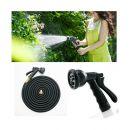 Εύκαμπτο Επεκτεινόμενο Λάστιχο Κήπου 22 m με Πιστόλι Ποτίσματος 7 Θέσεων Hoppline HOP1000957-2