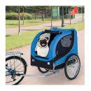 Αναδιπλούμενο Τρέιλερ Ποδηλάτου για Κατοικίδια 130 x 73 x 90 cm PawHut B4-0003-008
