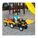 Παιδικός Εκσκαφέας με Πετάλια και Τρέιλερ HOMCOM 341-019