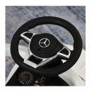 Αυτοκινητάκι - Περπατούρα Licensed PP Mercedes-Benz με Λαβή Γονέα Χρώματος Λευκό HOMCOM 370-112WT
