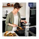 Αντικολλητική Κατσαρόλα με Επικάλυψη Μαρμάρου και Γυάλινο Καπάκι με Άκρο Σιλικόνης 24 cm Westinghouse WCCC0085024MBB