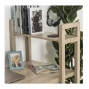 Ξύλινο Γραφείο με Βιβλιοθήκη 120 x 60 x 120.5 cm HOMCOM 836-242AK