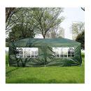 Πτυσσόμενο Κιόσκι Κήπου 3 x 6 x 2.55 m Outsunny 100110-068GR