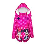 Παιδικό Μπουφάν Χρώματος Ροζ Mickey και Minnie Disney DHQ1074