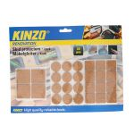 Αυτοκόλλητα Αντιολισθητικά Πατάκια 28 τμχ Kinzo 15668