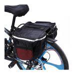 Διπλή Αδιάβροχη Τσάντα Ποδηλάτου με Ανακλαστικές Λωρίδες 32 x 25 x 12 cm Hoppline HOP1000717