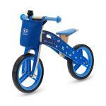 Παιδικό Ξύλινο Ποδήλατο Ισορροπίας Με Αξεσουάρ Χρώματος Μπλε KinderKraft Runner Galaxy
