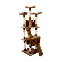Δέντρο Γάτας - Ονυχοδρόμιο 75 x 62 x 170 cm Χρώματος Καφέ Wintem PL-3923