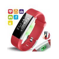 Ρολόι Fitness Tracker Aquarius AQ125HR με Μετρητή Καρδιακών Παλμών Χρώματος Κόκκινο R157696