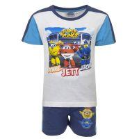 Παιδικό Σετ Μπλούζα - Σορτς Χρώματος Μπλε Super Wings Disney QE1599