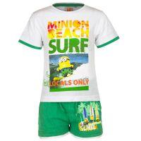 Παιδικό Σετ Μπλούζα - Σορτς Χρώματος Πράσινο Minions Disney EP1028
