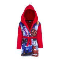 Παιδική Ρόμπα με Κουκούλα Χρώματος Κόκκινο Cars Disney DHQ2093