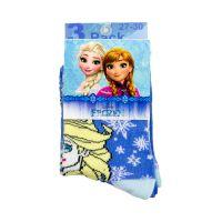 Σετ Παιδικές Κάλτσες 3 Ζευγάρια Χρώματος Μπλε Pack 1 Frozen Disney HQ0821