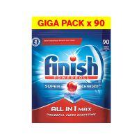 Απορρυπαντικό Πλυντηρίου Πιάτων Finish All In 1 Max Regular 90 Ταμπλέτες Finish-Allinone-90