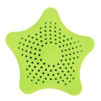 Τάπα Σιφωνιού για τις Τρίχες σε Σχήμα Αστερία Χρώματος Πράσινο StrafHairCatch-Green