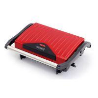 Ψηστιέρα - Γκριλιέρα 2 σε 1 750 W Royalty Line Χρώματος Κόκκινο RL-PM750.1-R