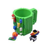 Κούπα Τύπου Lego Χρώματος Πράσινο SPM BrickMug-Green