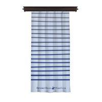 Κουρτίνα με Τρουκς 140 x 260 cm Χρώματος Λευκό Beverly Hills Polo Club 176BHP8811