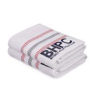 Σετ με 2 Πετσέτες Προσώπου 50 x 90 cm Χρώματος Λευκό Beverly Hills Polo Club 355BHP1261