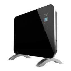 Φορητός Γυάλινος Θερμοπομπός με Wi-Fi 1000 W Χρώματος Μαύρο Cecotec Ready Warm 6670 Crystal Connection 24 x 76 x 43 cm CEC-05350
