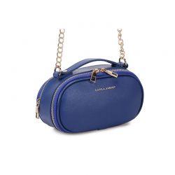 Γυναικεία Τσάντα Ώμου με Αλυσίδα Χρώματος Μπλε Laura Ashley Lyle 651LAS1824